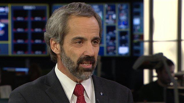 Le chef du Bloc québécois, Daniel Paillé