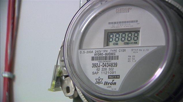 Un compteur intelligent d'Hydro-Québec