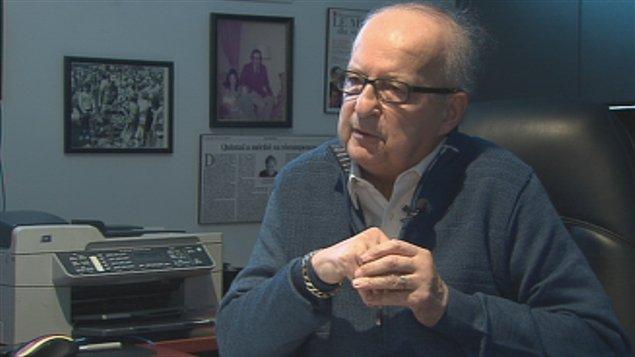 Le conseiller municipal Marc Simoneau
