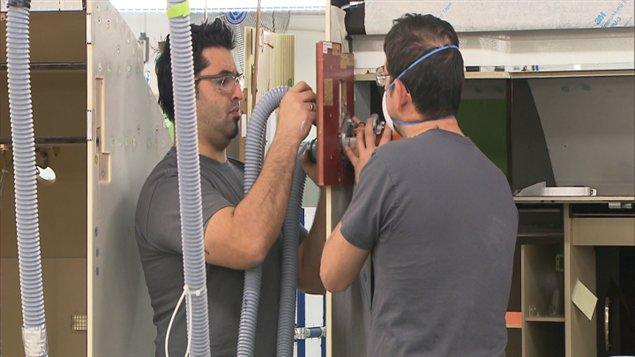 Travailleurs de l'aérospatiale