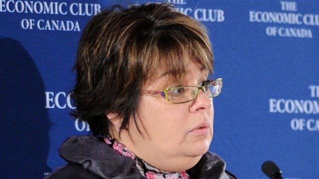 Theresa Spence au Economic Club of Canada