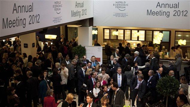 Rencontre à Davos