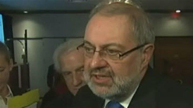 Le ministre de l'Environnement Pierre Arcand