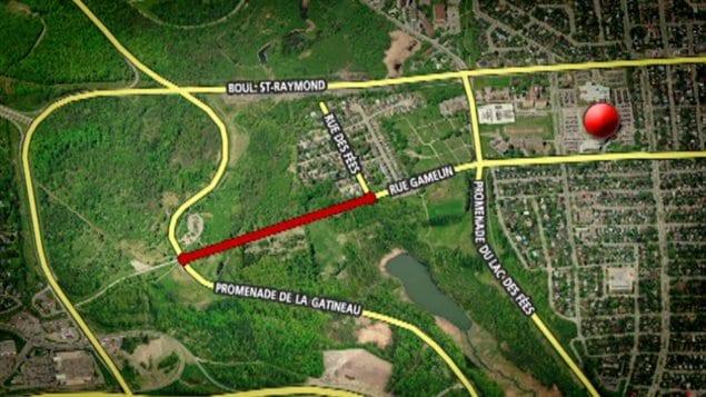 La CCN veut fermer ce tronçon de 500 mètres situé entre le parc de la Gatineau et la rue des Fées.