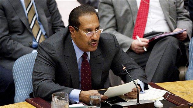 Le premier ministre qatari, le cheikh Hamad Ben Jassem Al-Thani