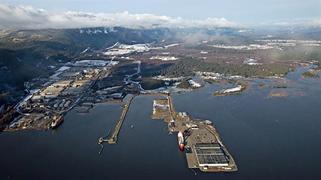 Le port de Kitimat doit accueillir le pétrole des sables bitumineux de l'Alberta