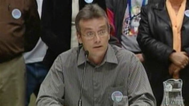 Mark Ferguson, président du syndicat des cols bleus de Toronto (archives)