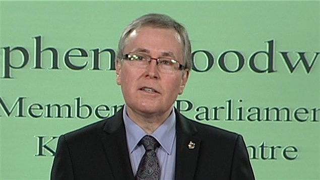Stephen Woodworth, député conservateur de Kitchener-Centre
