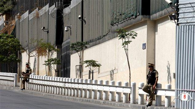 L'ambassade américaine à Damas (archives)