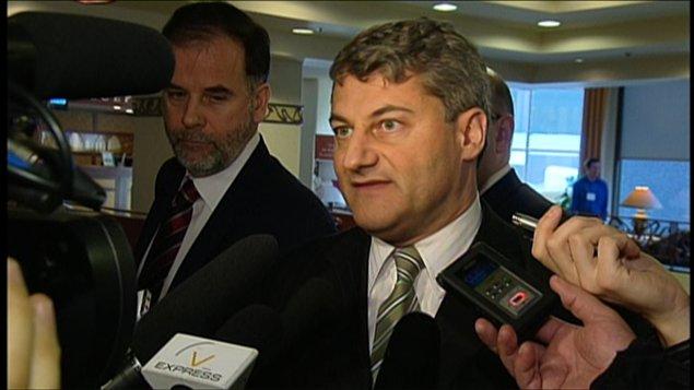 Le chef parlementaire de la CAQ, Gérard Deltell