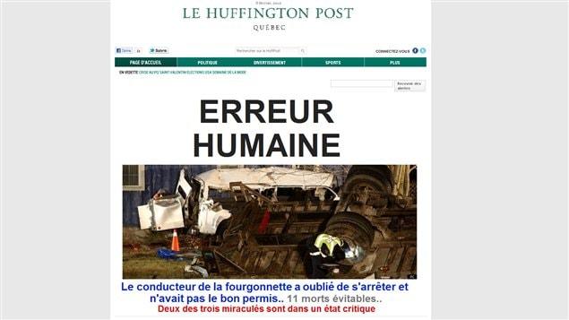 Le Huffington Post Québec