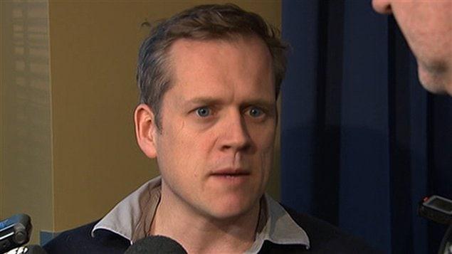 Le président de la Fédération des journalistes du Québec, Brian Myles
