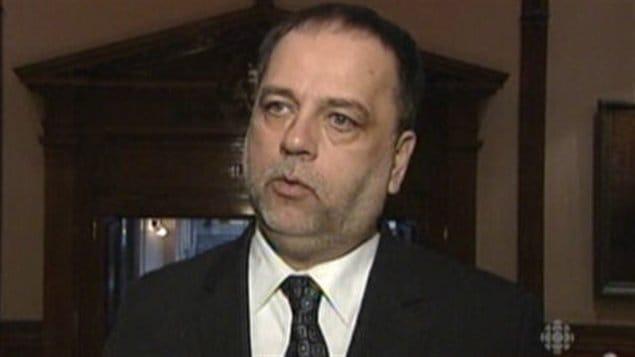 Gilles Bisson, député NPD de Timmins-Baie James