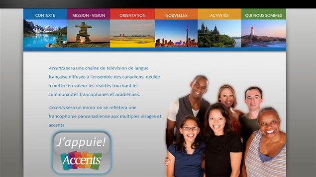 La Fondation canadienne pour le dialogue des cultures veut lancer une nouvelle chaîne de télévision francophone pancanadienne, Accents.