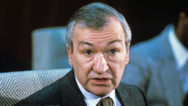 Pierre Juneau, photo du 26 mai 1982