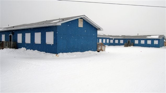 Les salles de classe actuelles à Attawapiskat