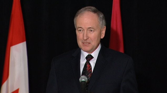 Rob Nicholson, ministre fédéral de la Justice