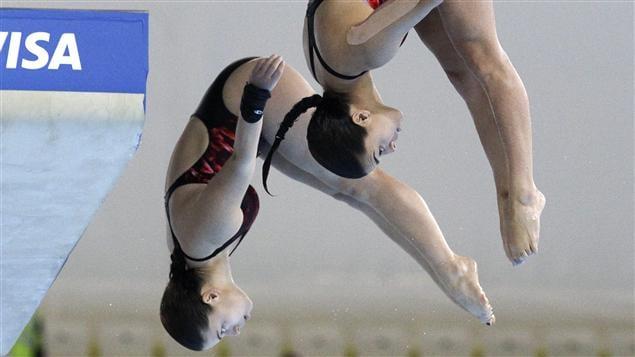 Roseline Filion et Meaghan Benfeito