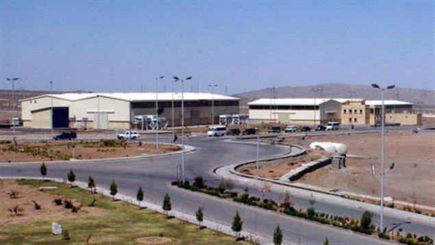 Le site d'enrichissement d'uranium de Natanz, en Iran