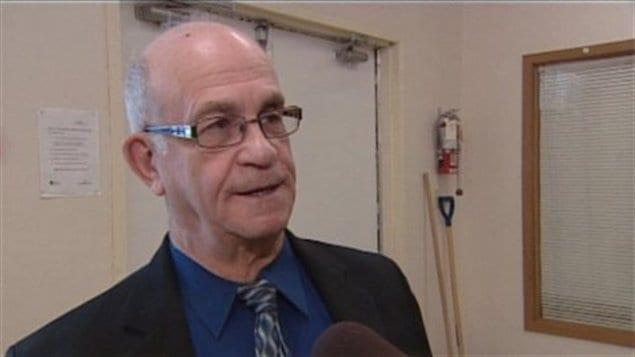 Denis Poirier, maire de Duck Lake (SK)
