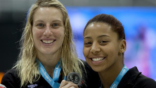 Émilie Heymans et Jennifer Abel