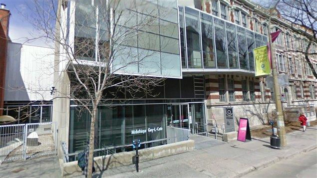 Siège de la Cinémathèque à Montréal