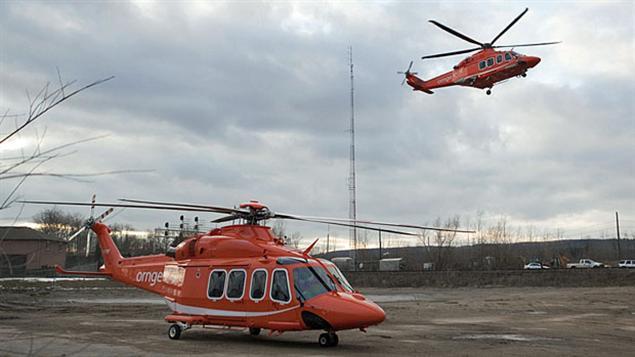 hélicoptères d'ORNGE