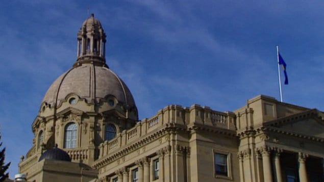 L'Assemblée législative albertaine à Edmonton