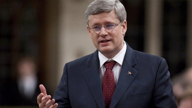 Le premier ministre Stephen Harper en Chambre