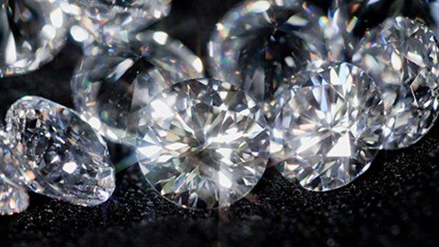 Des diamants taillés (archives)