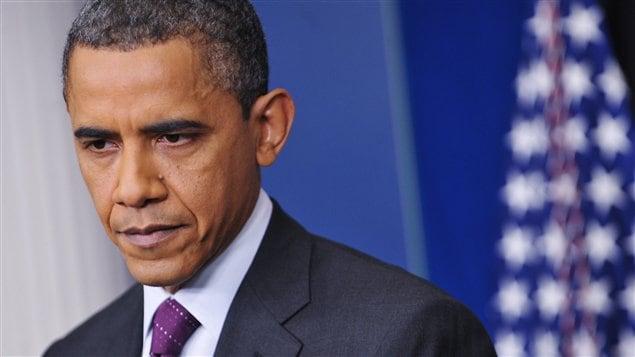 Barack Obama en conférence de presse, le 6 mars.