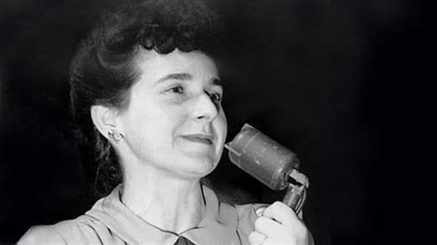 Madeleine Parent s'est rendue célèbre par son rôle dans la syndicalisation des ouvrières du textile dans les années 40.