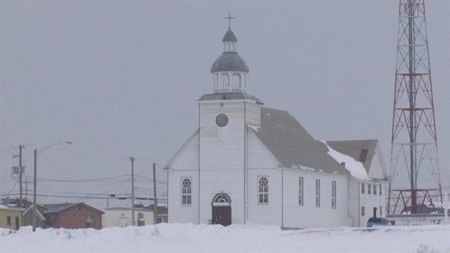 L'église catholique d'Attawapiskat