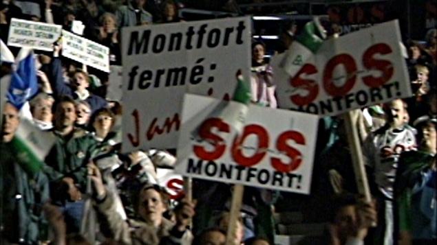 La grand rassemblement pour la survie de l'Hôpital Montfort.
