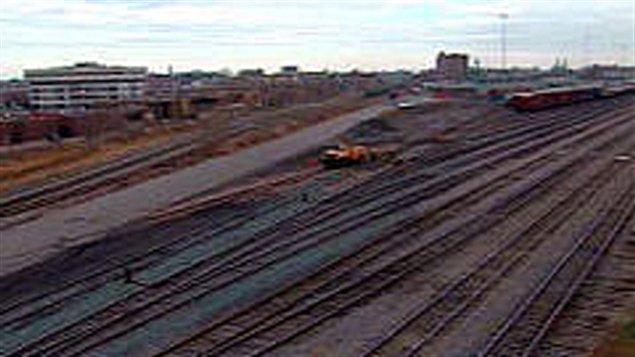 Gare de triage d'Outremont