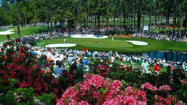 Le club de golf d'Augusta