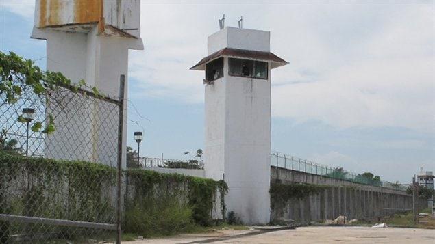 Cynthia Vanier est détenue à la prison de Chetumal, au Mexique