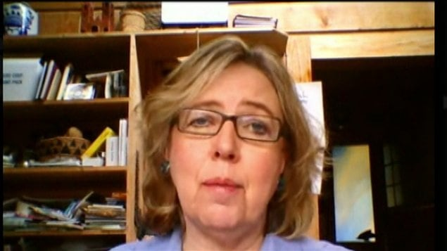 Elizabeth May, chef du Parti vert