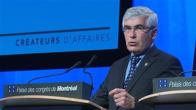 Le ministre des Ressources naturelles, Clément Gignac