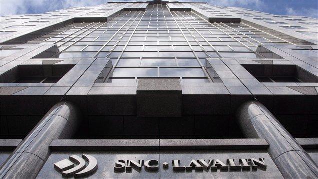 Les bureaux d'SNC-Lavalin à Montréal (archives)