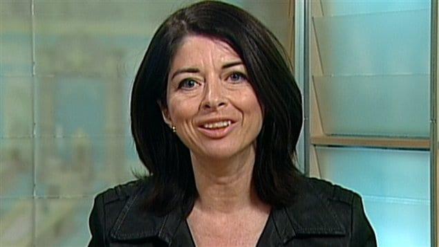 La ministre de l'Éducation du Québec, Line Beauchamp