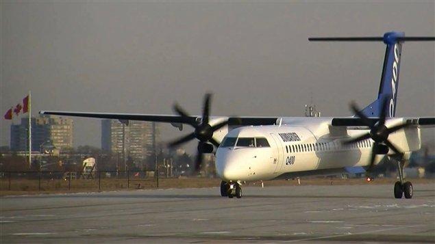 Un Q400 de Bombardier (archives)
