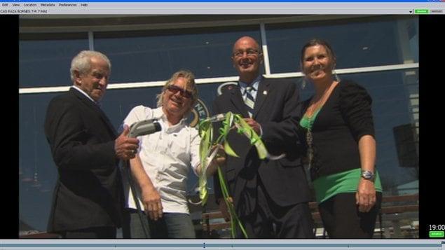 Inauguration de la première borne électrique à Trois-Rivières