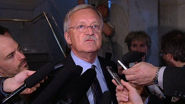 Le député libéral d'Orford, Pierre Reid