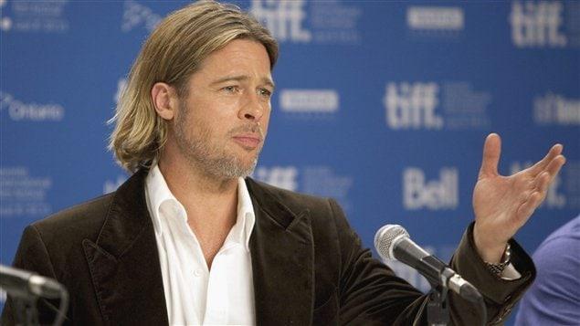 Brad Pitt est au Festival international du film de Toronto pour présenter le film Moneyball.
