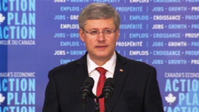 Le premier ministre, Stephen Harper