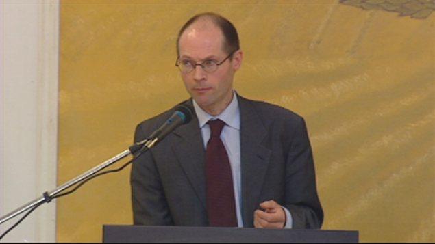 Le rapporteur spécial de l'ONU pour le droit à l'alimentation, Olivier De Shutter