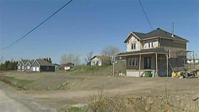 Nouveau développement résidentiel à Saint-Valérien