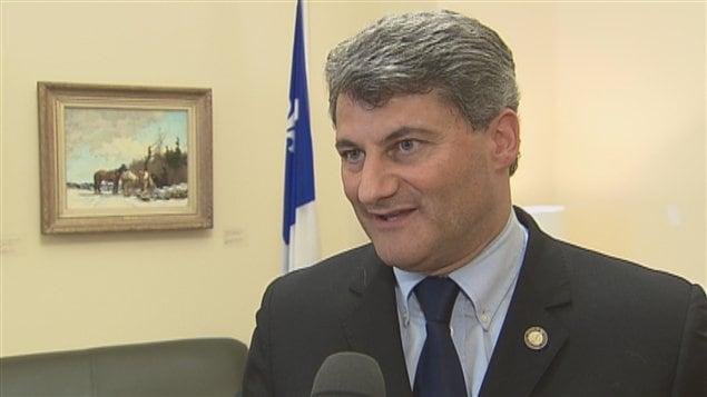 Le député de la CAC Gérard Deltell.