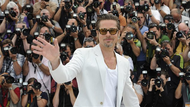 L'acteur américain Brad Pitt.